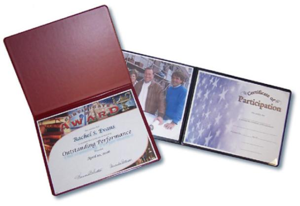 Certificate Holders, Diploma Covers & Proclamation Folders